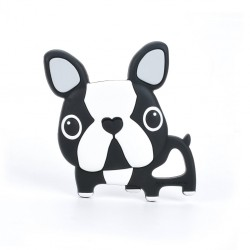 Boston Terrier Silicone Teether - Loulou Lollipop