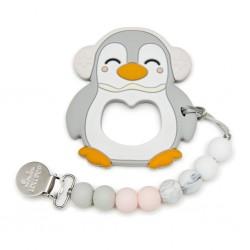 Ensemble de dentition Pingouin Gris - LOULOU LOLLIPOP Loulou Lollipop