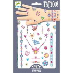 Tatouages Les bijoux de Jenni - Djeco