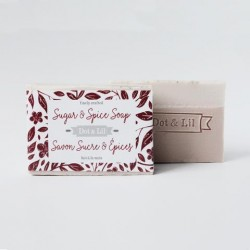 Sugar and spice Soap - Dot & Lil
