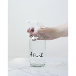 Clear Glass Spray Bottle 500 ml - La Looma
