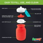 Green - Reusable Food Pouch 6oz - Squeasy