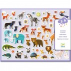 100 Mother and child volume stickers - DJECO