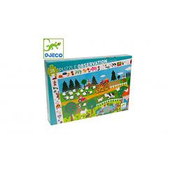 Observation Puzzle 35 pieces Farm - Djeco