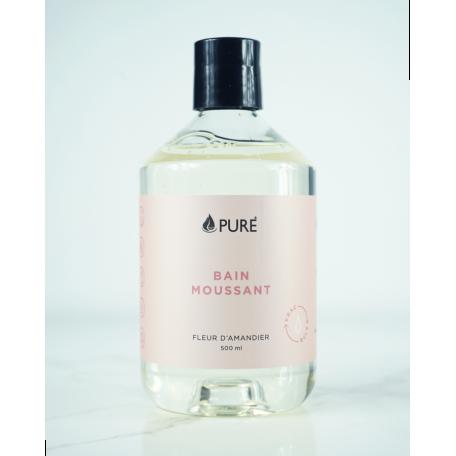 Bain moussant 500mL Fleur d'Amandier - Pure, Total Fabrication Pure - Total Fabrication