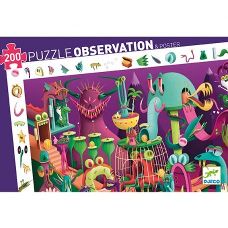 Puzzle D'observation Dans Un Jeu Vidéo 200 pièces - Djeco Djeco