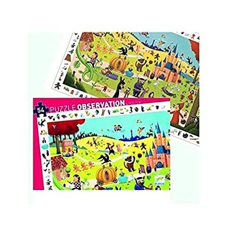 Puzzle d'Observation Contes 54 pièces - Djeco Djeco