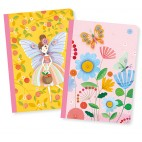 Lovely Paper Small Notebooks - Djeco - Lucille