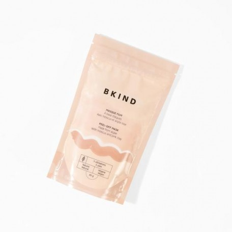 Film mask with seaweed, hibiscus and pink clay - BKIND