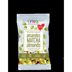 Matcha almonds - lynq