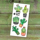 Temporary Tattoo Cactus - Pico
