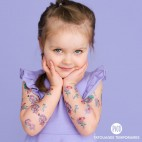 Temporary Tattoo Blue Princess - Pico