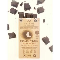 Chocolat noir 72% 100g - Galerie au Chocolat Galerie au Chocolat