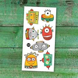 Temporary Tattoo Robots - Pico