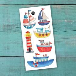 Temporary Tattoo Row your boat - Pico