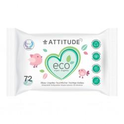 Lingettes Naturelles et Biodégradables - Attitude Attitude