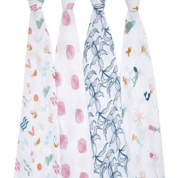 Pack 4 Cotton Covers Salty Kisses - Aden & Anais