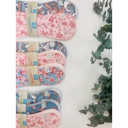 The Complete Set of reusable pads - Oko