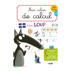 My mathematic book with Loup - Auzou