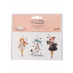 Temporary tattoo Les Parisiennes (3) - Moulin Roty