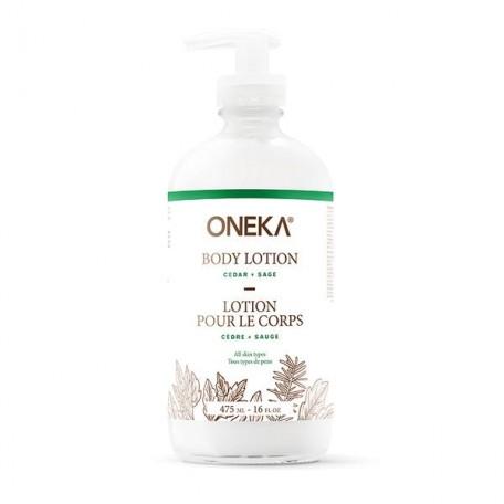 Lotion pour le corps Cèdre et sauge - Oneka Oneka